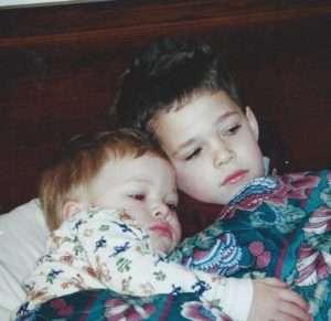 boys sleeping