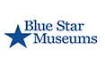 Blue Star Museums Logo