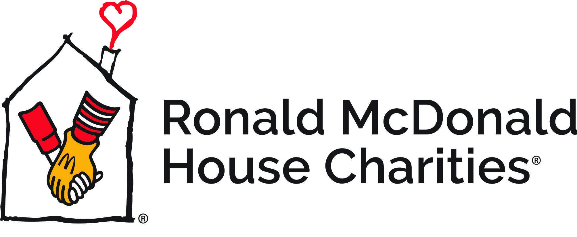 logo for Ronald McDonald House Charities