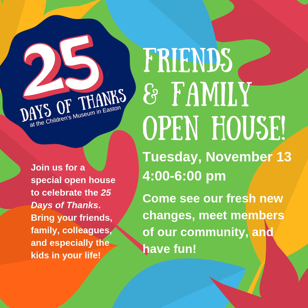 25 Days of Thanks Open House Invite