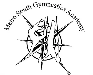 logo for Metro South Gymnastics